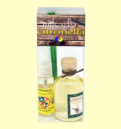 Pack Spray + Mikado de Citronela - Aromalia - 40 + 50 ml