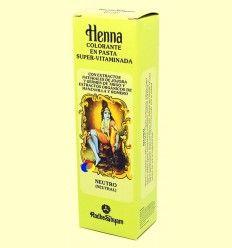 Henna Neutro Pasta - Radhe Shyam - 200 ml