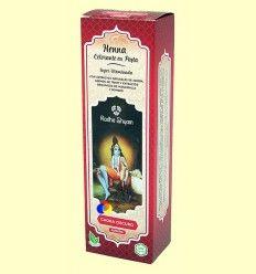 Henna Caoba Oscuro Pasta - Radhe Shyam - 200 ml