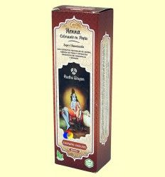 Henna Castaño Oscuro Pasta - Radhe Shyam - 200 ml
