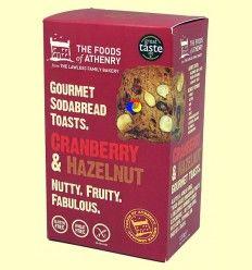 Tostadas Arándanos y Avellanas Sin Gluten - The Foods of Athenry - 110 gramos