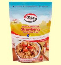 Granola Crujiente Sin Gluten con Fresas - Glebe Farm - 325 gramos