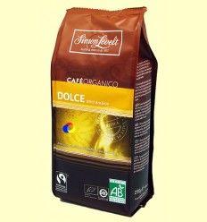 Café Molido Orgánico Dolce Arábica - Simon Lévelt - 250 gramos
