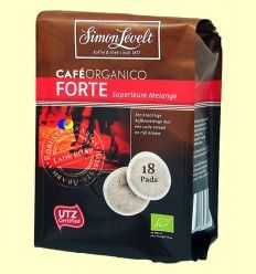 Café en cápsulas Orgánico Forte - Simon Lévelt - 18 cápsulas