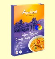 Pasta Indio de Curry Tandoori - Amaizin - 80 gramos