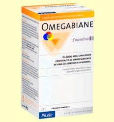 Omegabiane Camelina Cornelina Sátiva - PiLeJe - 80 cápsulas