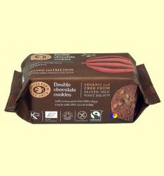 Galletas con doble Chocolate Sin Gluten - Doves Farm - 180 gramos