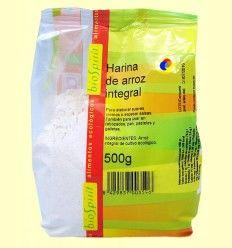 Harina de Arroz Integral Bio - BioSpirit - 500 gramos