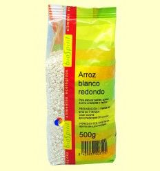 Arroz Blanco Redondo Bio - BioSpirit - 500 gramos