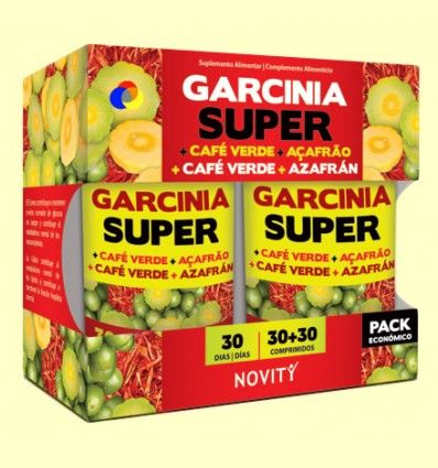 Garcinia Super Pack - Novity - 60 comprimidos *