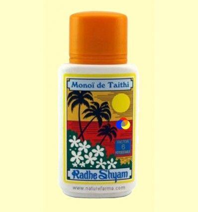 Aceite Protector Solar Monoï de Tahiti Factor 6 - Radhe Shyam - 150 ml *