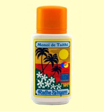 Aceite Protector Solar Monoï de Tahiti Factor 10 - Radhe Shyam - 150 ml