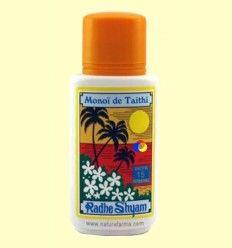 Aceite Protector Solar Monoï de Tahiti Factor 15 - Radhe Shyam - 150 ml