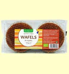 Wafels de Espelta Bio - BioSpirit - 175 gramos *