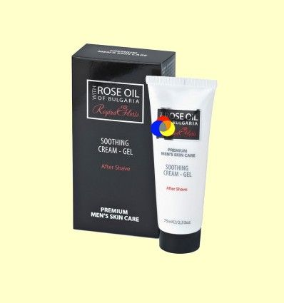 Crema Suavizante Aftershave Gel Caballero - Regina Floris - 75ml
