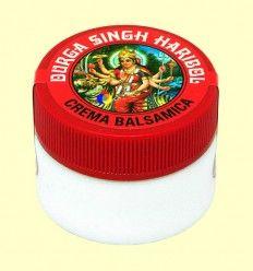 Crema balsámica Durga Singh Haribol - Radhe Shyam - 15 ml