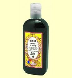 Champú Colorante Cabello Negro - Radhe Shyam - 250 ml
