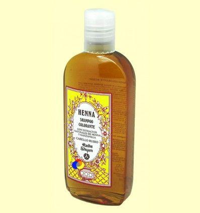 Champú Colorante Cabello Rubio - Radhe Shyam - 250 ml