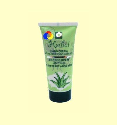 Crema de Manos Herbal de Aloe Vera - Biofresh - 50 ml