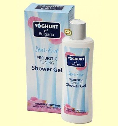 Gel de Ducha Tonificante con Probiótico - Yogur de Bulgaria - 230 ml