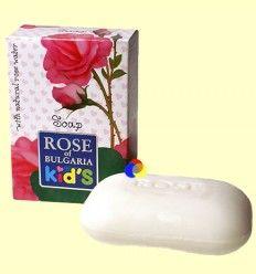 Jabón Natural en Pastilla Infantil - Rose of Bulgaria - 100 gramos