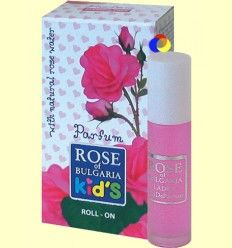 Colónia con Aplicador Roll-On Infantil - Rose of Bulgaria - 10 ml