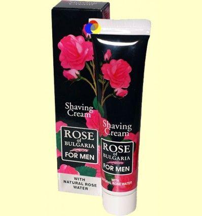 Crema de Afeitar Caballero - Rose of Bulgaria - 50 ml *
