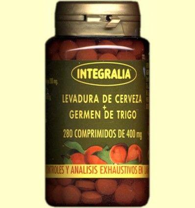 Levadura de cerveza+Germen de trigo - Integralia - 280 comprimidos