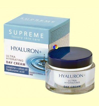 Crema de Día Ultra Hidratante Ácido Hialuronico - Supreme - 50 ml