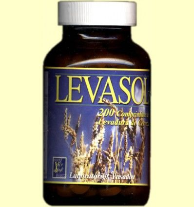 Levasol - Levadura de cerveza - Ynsadiet - 200 comprimidos