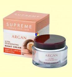 Crema de Noche Ultra Regenerante Aceite de Argán - Supreme - 50 ml