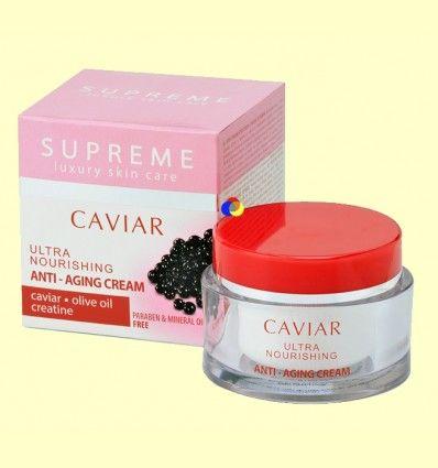 Crema Ultra Nutritiva Anti Edad Caviar - Supreme - 50 ml