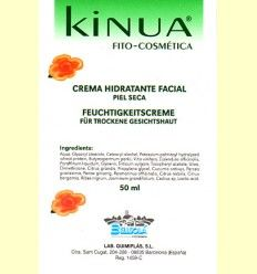 Crema hidratante Facial Piel Seca 50ml de Kinua