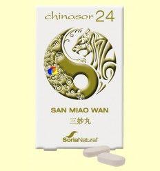 Chinasor 24 - SAN MIAO WAN - Soria Natural - 30 comprimidos