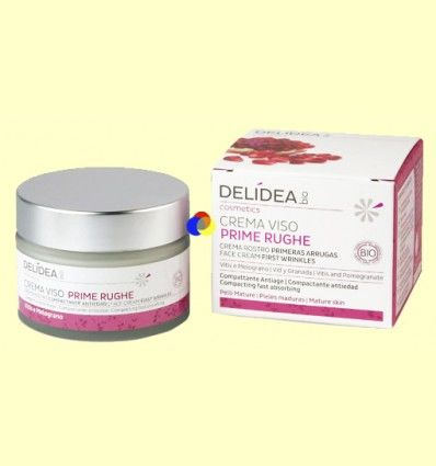 Crema facial antiarrugas - Delidea - 50 ml