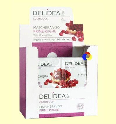 Mascarilla Facial Antiarrugas - Delidea - 2 x 10 ml