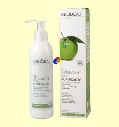Gel Limpiador Facial Purificante - Delidea - 200 ml