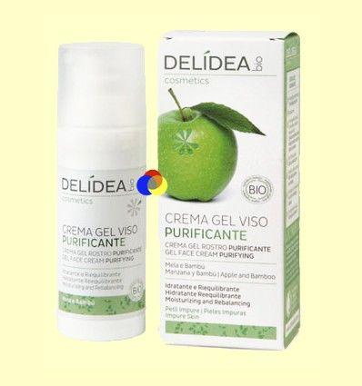 Crema Gel Facial Purificante - Delidea - 50 ml