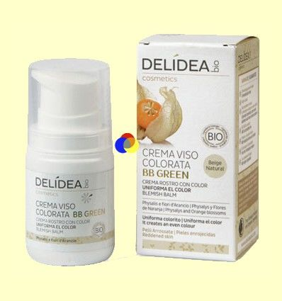 Crema Facial con color BB Green - Delidea - 50 ml
