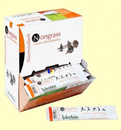 Nongras Probiótico - Control del peso - Derbós - 50 stick de 15 ml