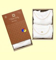 Pack Body Algodón Orgánico Oneise Marrón - The Dida Baby - 2 unidades