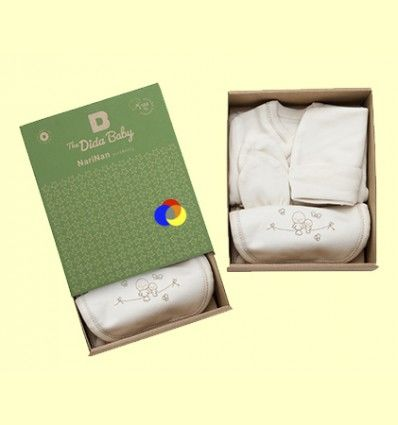 Conjunto para Recién Nacido Algodón Orgánic - The Dida Baby - 4 piezas