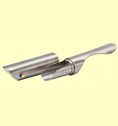 Infusor de acero inox pulido y microperforado - Leopold