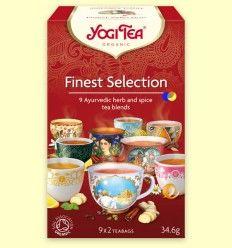 Selección de Té Finest - Yogi Tea - 18 bolsitas