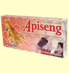 Apiseng - Jalea Real y Ginseng - Ynsadiet - 10 viales