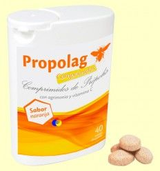 Propolag - Caramelos de Própolis - Eladiet - 40 comprimidos