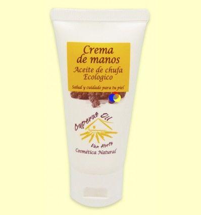 Crema de Manos con Aceite de Chufa - Van Horts - 50 ml