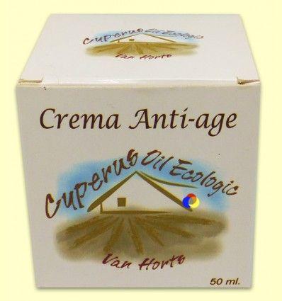 Crema Anti-Edad con Aceite de Chufa - Van Horts - 50 ml