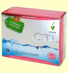 Cetoline - Control del Peso - Novadiet - 60 cápsulas vegetales