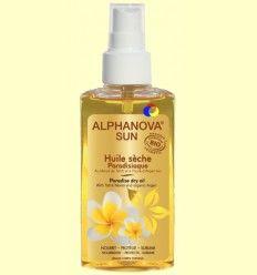 Aceite Seco Paradise - Alphanova - 125 ml